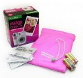 Free shipping Fuji Instant Instax Mini 7S Polaroid Camera + Film&Case+color pen+self shot