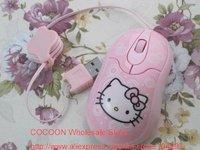10pcs/ lot free shipping Hello Kitty Optical mouse KT-0120