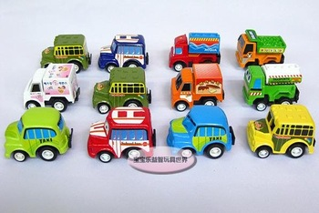 Free shipping--Retail and wholesale Cute back force model car / toys / Christmas gift