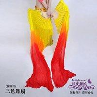 Hot Sale New Belly Dance Fan Veil / Emulation silk Fan Womens Fashion Accessories Free Shipping