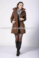 Hot Sale Women's Fashion Cotton Coat, Ladies' Noble Elegant Coat WW0019
