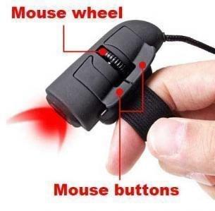 Cute Mini Lazy Mouse sluggard Mouse Finger Mouse Free shipping!