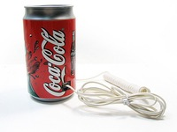 Coke Cola Pop-Top Can Phone Corded Telephone Landline