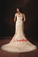 Carmela Bridal Gown Wedding Dress Vestido de Novia HSL color free HY-11785