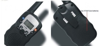 2pcs/lot Gift Ideas for Lovers Toy Handheld Walkie Talkie,Two Way Radio,Interphone with PMR System,LCD Display