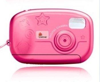 cheap! kids childrens digital camera pink !!!