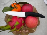 "Wholesale Pure White  5"" Zirconia Ceramic Chef's Knife HOT SELL 5pcs"