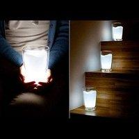 Free Shipping Novelty Product 4pcs/lot Led White Milk Light Night Light
