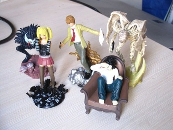 Death Note Figure Set 5pcs L/Yagami/Ryuk/Misa/Rem