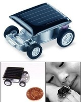 Wholesale-Mini environment-friendly solar car,Free shipping