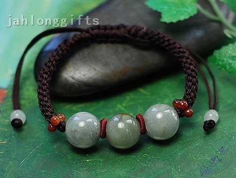 Atacado Natural Womens Jade Bead pulseiras Bangle Charme Jewlery Presente Novidade 24pcs um lote Frete Grátis(China (Mainland))