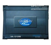 HA-12120B with MAX Power into 2 Ohms of 1000w*2 CAR Amplifier for