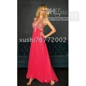 sizes and colors Sexy red party dress / ball gown / custom Custom