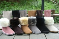 wholesale and retail Free shipping brand new boot Women`s snow boots Winter boots 5pairs