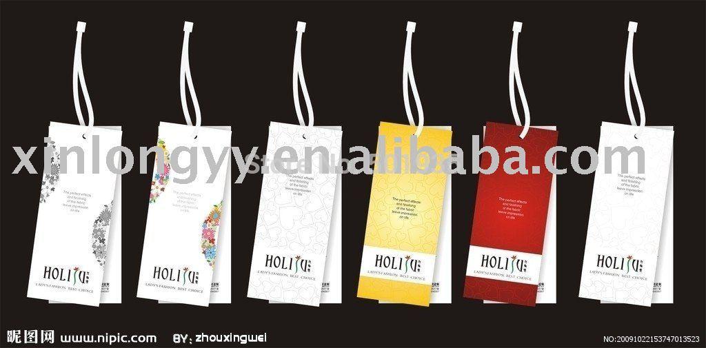 Теги для одежды name tag