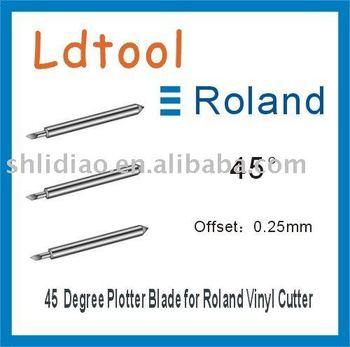 5x 45* ROLAND CRICUT GCC VINYL CUTTER PLOTTER BLADE