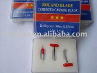 3x 60* ROLAND CRICUT GCC VINYL CUTTER PLOTTER BLADE