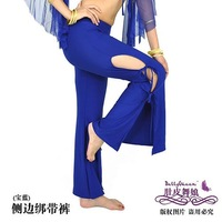 Yoga Belly Dance Side Bind Trousers Pants