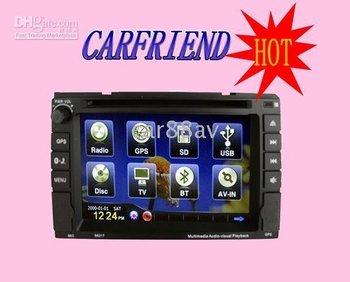 Universal Car DVD with DVD,GPS,Radio,Bluetooth,DVB-T,iPod,MP4,MP3 - 2068