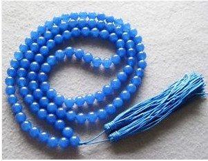 Budista tibetano 108 Jade Prayer Beads Colar Mala transporte livre(China (Mainland))