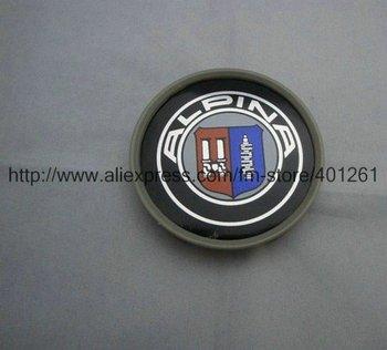 100pcs Alpina Wheel Central Cover Car Badge Emblem Diameter 68Mm Factory Supply free shipping