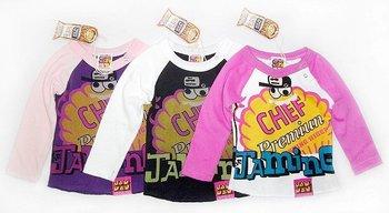 Wholesale_2010 winter long sleeve  New edition fashion JAM-children clothing_7 pcs/set,High Quality,hot sale!