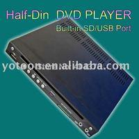 Car Half DIN In-Dash DIVX/MP3/CD/DVD Player+USB/SD Slot  CAR 1/2 DIN DVD  ShenZhen Yotoon