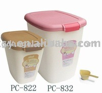 dog food container, New PC material,Food safe,CE certificate,wholesales retail