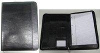 Cow split leather folder for office-bearer free shipping