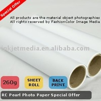 "260g Photo Paper rolls RC Satin 44""*30M"