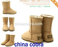 free shipping kids winter boots (top quality)