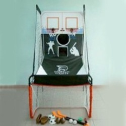 10pcs Shoot Basketball Game&Hockey set&Soccer set&Baseball&Rugby(China (Mainland))