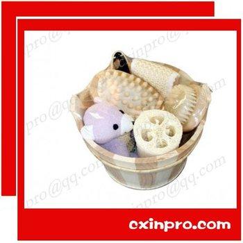 guaranteed 100% wooden natural bath set+free custom logo+free design