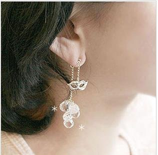 free shipping hot sale, water drop, face master ear pendent