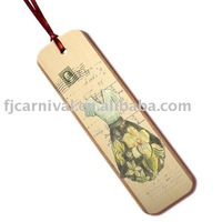 Christmas gift / wood bookmark / with printing / Free customer design + Free shipping