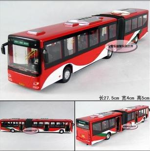 Frete grátis - Atacado e retai Pequim da Praça Tiananmen Bus / som e versão light de modelos de carros de liga presente / Natal(China (Mainland))