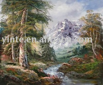 Landscape Canvas art oil painting For wall hanging ytdcfj022