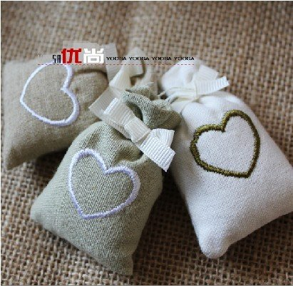 Free shipping Meters of cloth bags of spice sachets sachet bag wardrobe package car aroma fragrance sachet bags