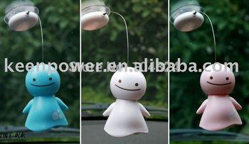 FREE SHIPPING,Mini solar Smile Sunny Doll/Fashion toy/Cartoon Solar Doll/solar toy/Christmas gift/hoilday gift/toy doLL