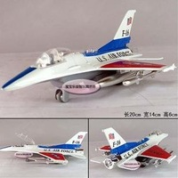 Free shipping--Wholesale and retai U.S. F-16 fighter / Alloy Aircraft model / Educational Toys/ Christmas gift
