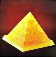 """3D three-dimensional crystal puzzle (the pyramid)"""