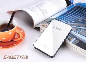 Free shipping Eaget v8 500g portable hard drive