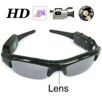 Free Shipping, Mobile eyewear recorder Sunglasses camera, Sunglasses Eyewear DVR with 5.0MP Camera 1280 x 720P Resolution