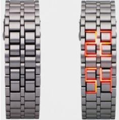 2011 best selling fashion Lava watch,Stainless Steel LED watch