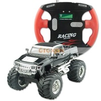 Gift for Christmas, RTR 1:52 Mini RC Radio Remote Control Truck Car Jeep black color