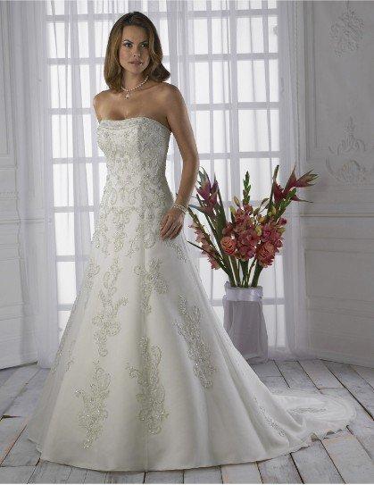 diamante luxo vestido de noiva cauda grande(China (Mainland))