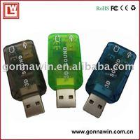 USB2.0 sound Card/External USB Sound Card/USB Audio Card