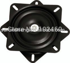 "6.5"" flat barstool swivel plate with 360 degree continous rotation sell by packs"