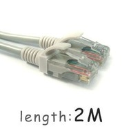 Free Shipping 10 Pcs 6.5 FT 2M CAT5 5e CAT5e Ethernet Network Lan Cable Wholesale & Retail [ZA93]