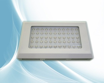 120W LED grow light,55*2W,use 2W led chip,red(630nm):blue(470nm)=8:1